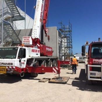 Premier Cranes at Australia Post Facility