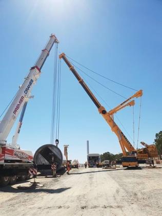 Premier Cranes Wind Farm Project