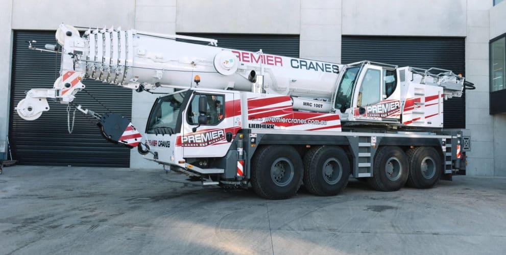 100T Liebherr Crane