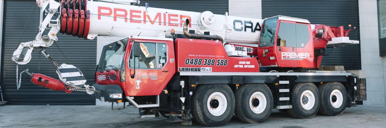 80T Liebherr Crane