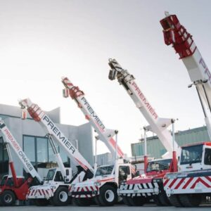 Our Fleet of Mobile Cranes