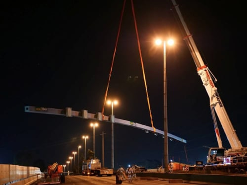 Gantry Removals – Westgate Tunnel Project