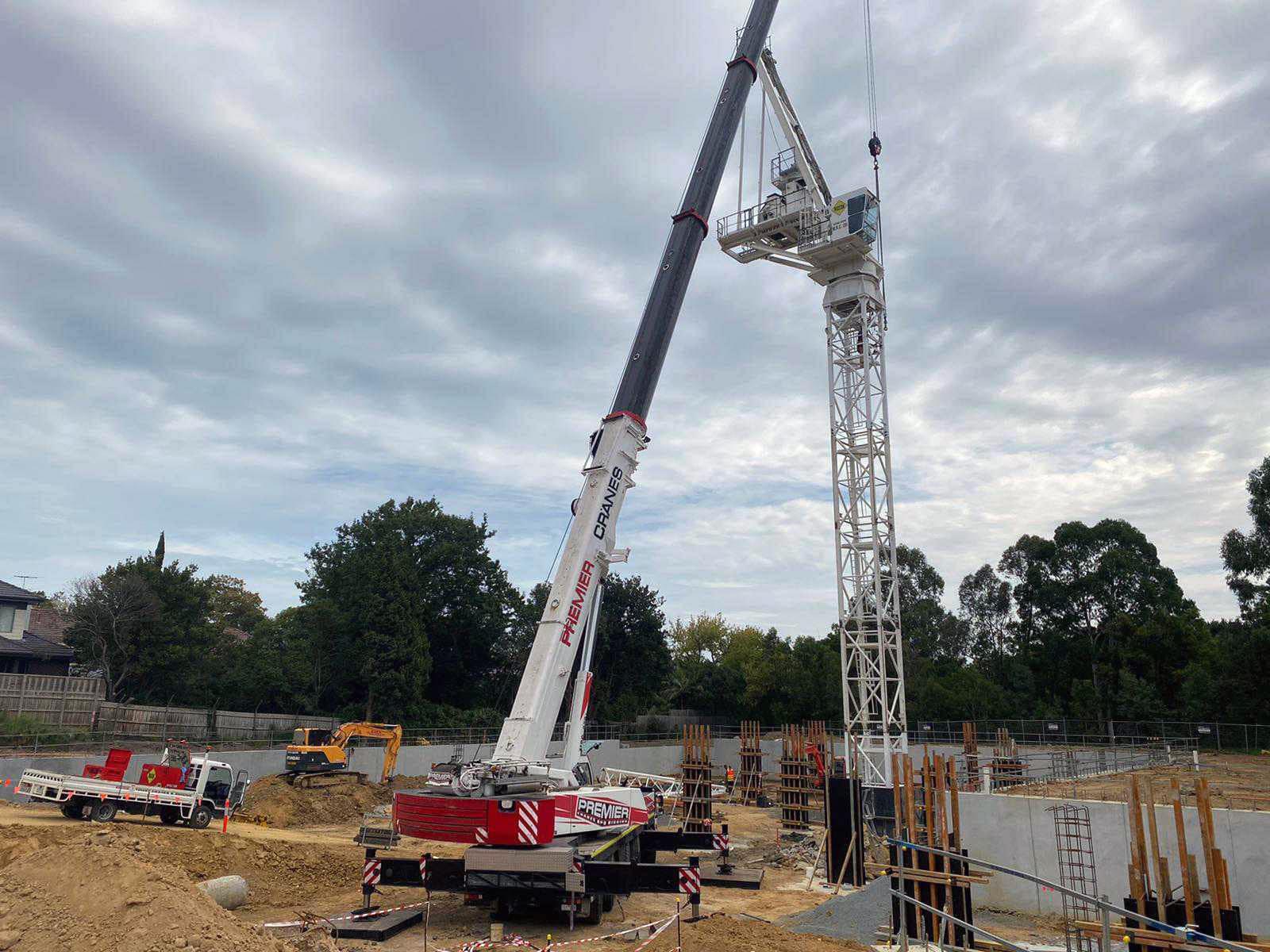 Rigcon Tower Crane Install